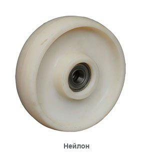 Ролик для гидравлических тележек и штабелеров (нейлон)