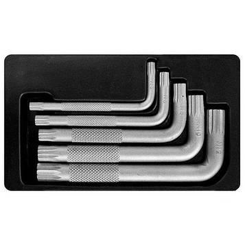 Набор шестигранных ключей S&R SP 5шт в металлическом кейсе