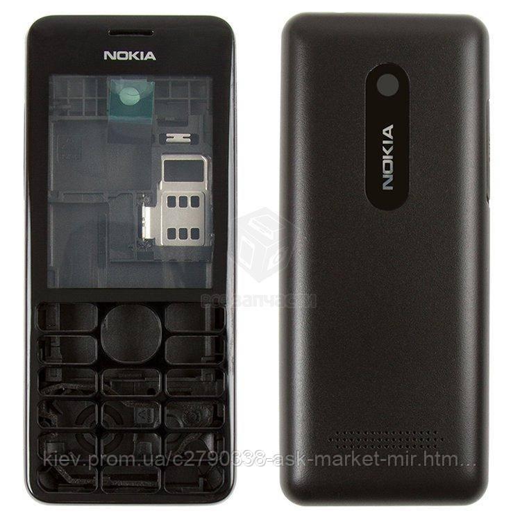 Корпус для Nokia Asha 206 Original Black