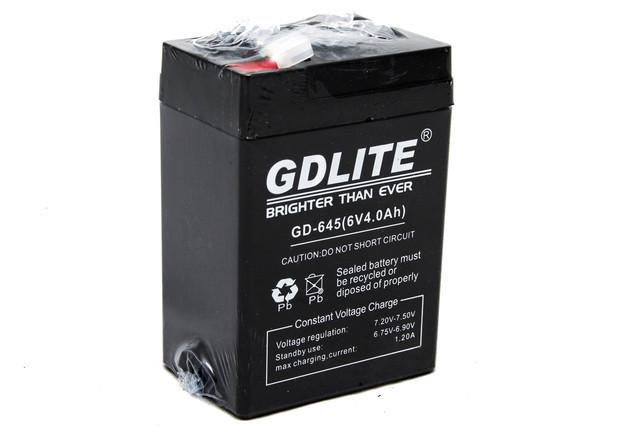 Аккумулятор GD LITE GD-645 (6V4.0AH)
