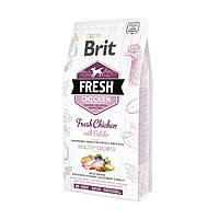 Brit Fresh Chicken With Potato Puppy 12 кг - корм для щенков с курицей и картофелем
