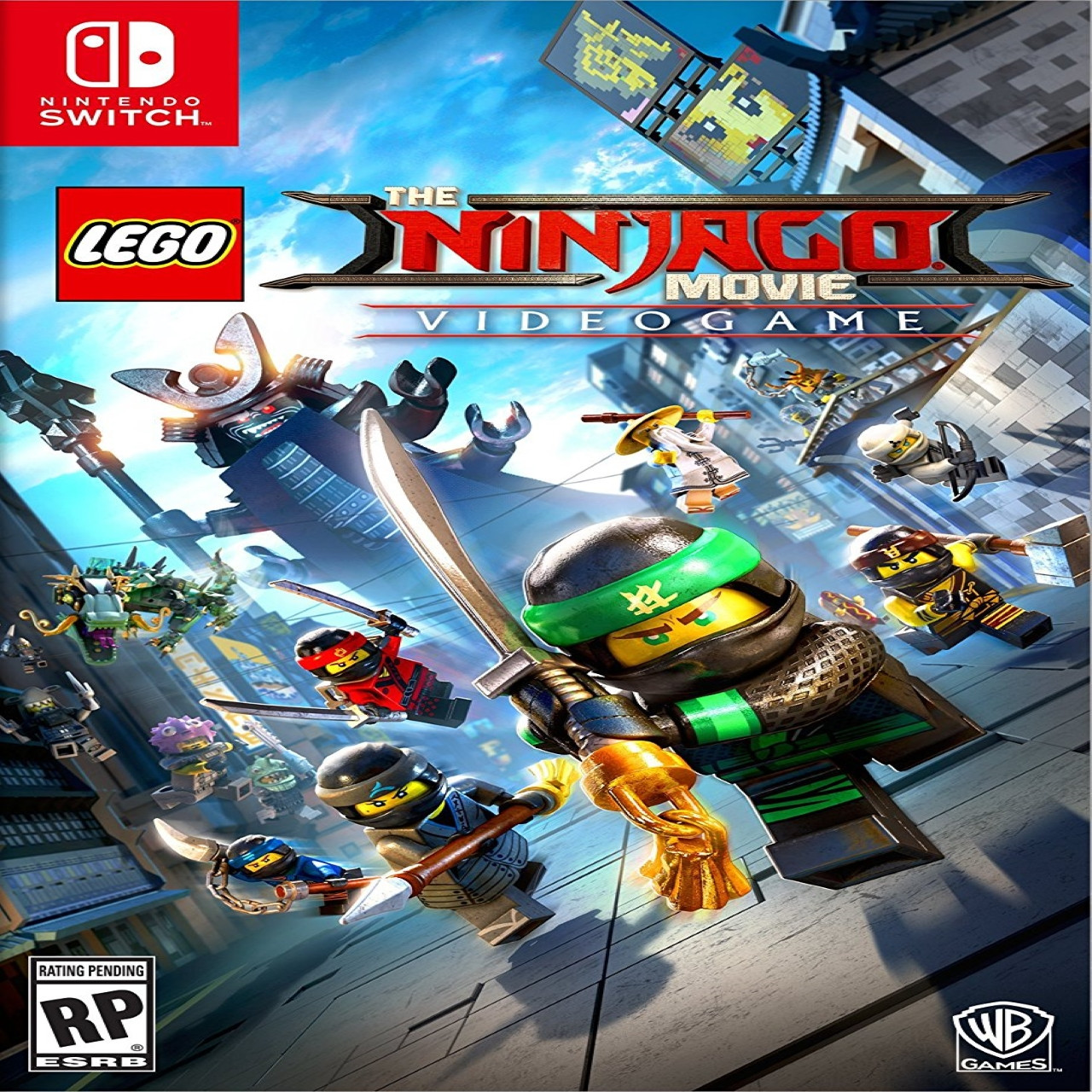 The LEGO Ninjago Movie Video Game SUB Nintendo Switch (NEW)