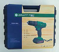 Шуруповерт аккумуляторный Craft-tec PXCD-182Li, фото 1