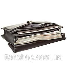 Портфель мужской KARYA 17271 кожаный Черный, Черный, фото 3