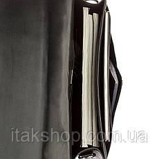 Портфель мужской KARYA 17271 кожаный Черный, Черный, фото 2