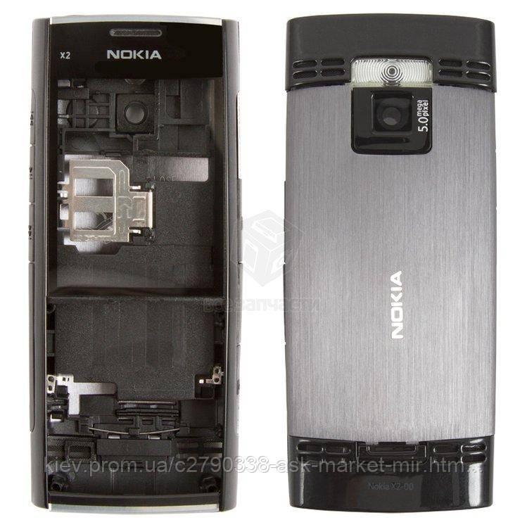 Корпус для Nokia X2-00 Original Black