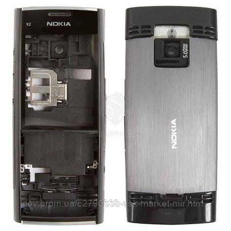 Корпус для Nokia X2-00 Original Black, фото 2