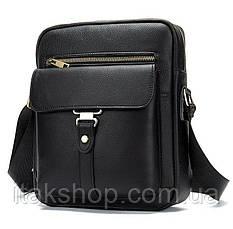 Сумка cтильная мужская Vintage 14649 Черная, Черный, фото 3
