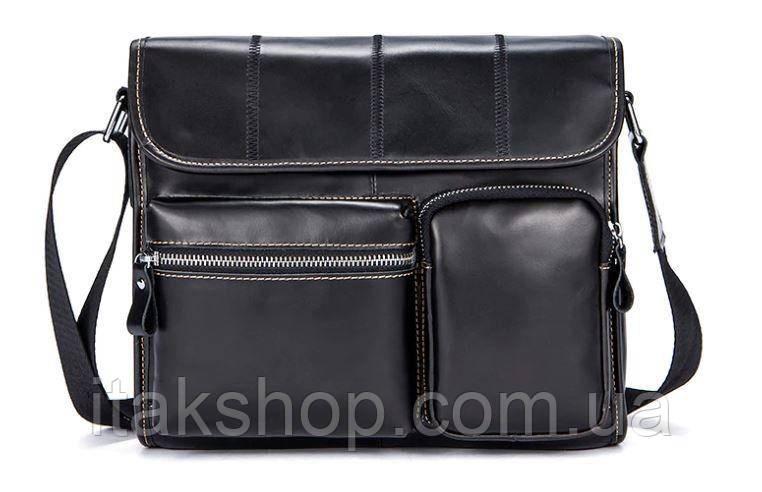 Сумка на пояс Vintage 14651 Черная, Черный