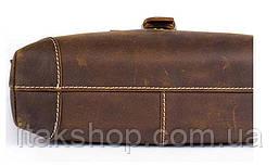 Сумка мужская Vintage 14675 Коричневая, Коричневый, фото 2