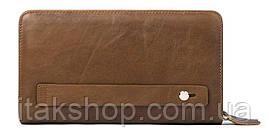 Клатч-барсетка мужской Vintage 14722 Светло-коричневый, Коричневый, фото 2