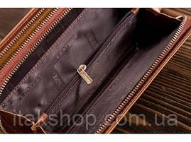 Клатч-барсетка мужской Vintage 14722 Светло-коричневый, Коричневый, фото 3