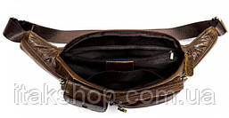 Поясная сумка флотар Vintage 14740 Черная, Черный, фото 3