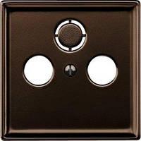ЦП розетки Merten SD TV/SAT, коричневый (MTN4123-4015)