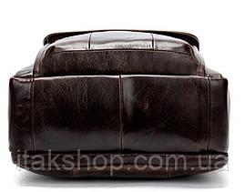 Сумка мужская Vintage 14764 Коричневая, Коричневый, фото 3
