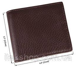 Кошелек мужской Vintage 14367 кожа Коричневый, Коричневый, фото 2