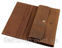 Кошелек Vintage 14406 Коричневый, Коричневый, фото 3