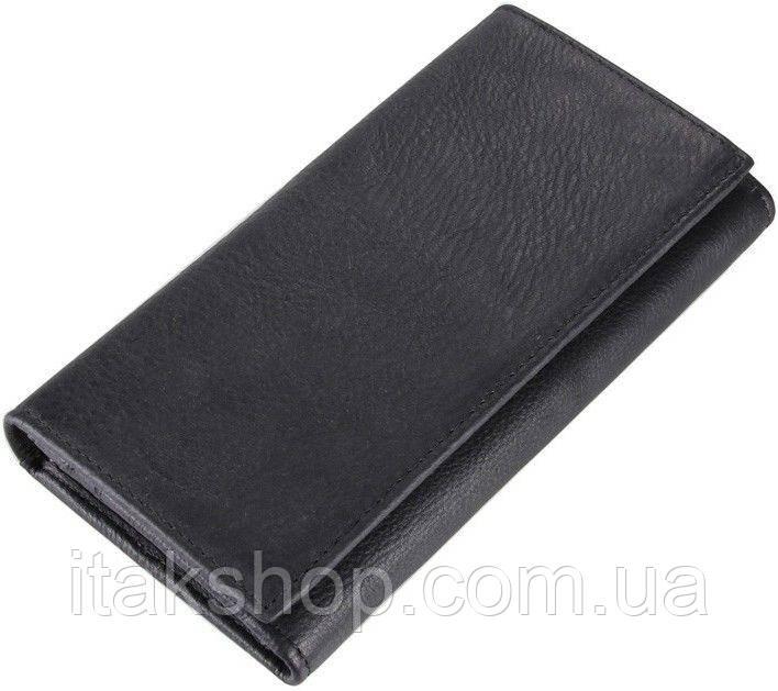 Кошелек Vintage 14446 Черный, Черный