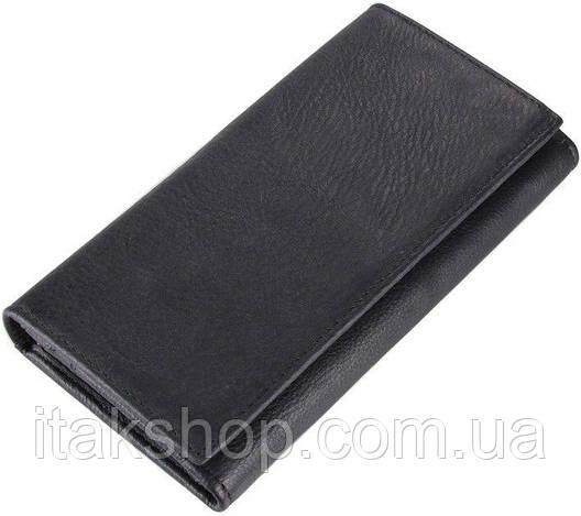 Кошелек Vintage 14446 Черный, Черный, фото 2