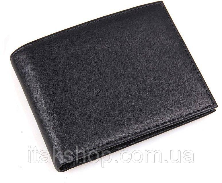 Кошелек мужской Vintage 14449 Черный, Черный
