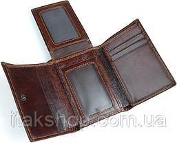 Кошелек Vintage 14464 Коричневый, Коричневый, фото 3