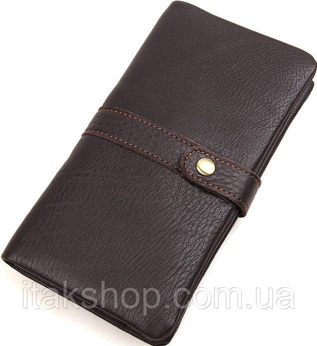 Кошелек мужской Vintage 14488 Коричневый, Коричневый
