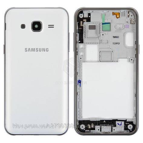 Корпус для Samsung Galaxy J5 (J500F, J500H, J500M) Original White, фото 2