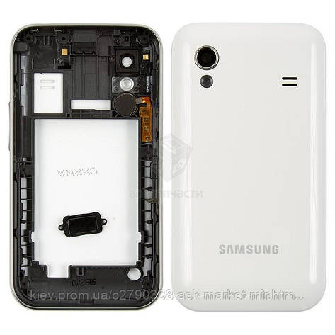 Корпус для Samsung Galaxy Ace S5830, Galaxy Ace S5830i Original White, фото 2
