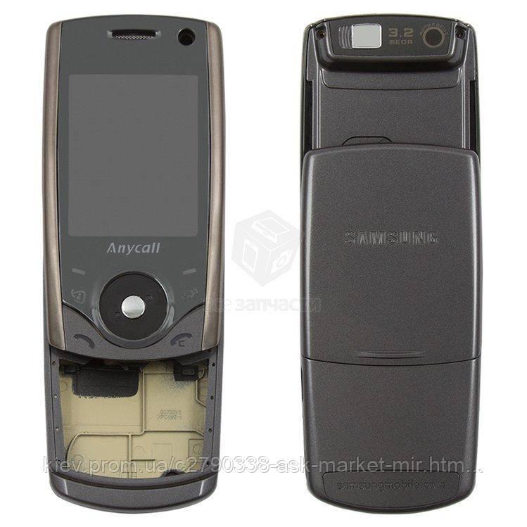 Корпус для Samsung U700 Original Grey