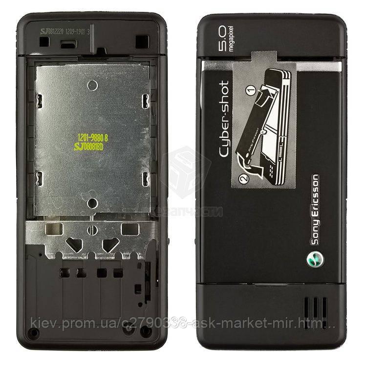 Корпус для Sony Ericsson C902 Original Black