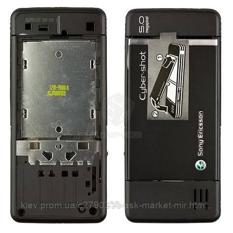 Корпус для Sony Ericsson C902 Original Black, фото 2