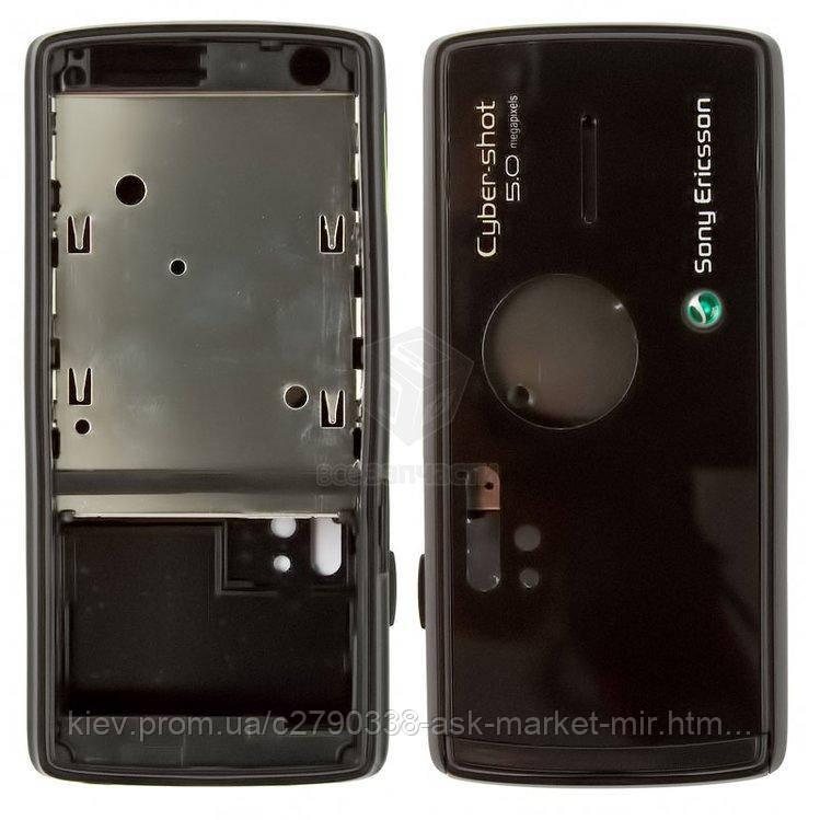Корпус для Sony Ericsson K850 Original Black