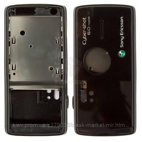 Корпус для Sony Ericsson K850 Original Black, фото 2