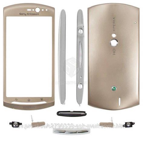 Корпус для Sony Ericsson Xperia Neo V MT11i Xperia Neo MT15i Original Gold, фото 2