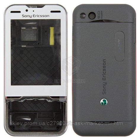 Корпус для Sony Ericsson U100i Yari Original Grey, фото 2