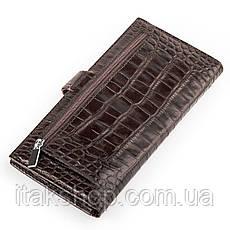 Портмоне мужское KARYA 17017 Коричневое, Коричневый, фото 2