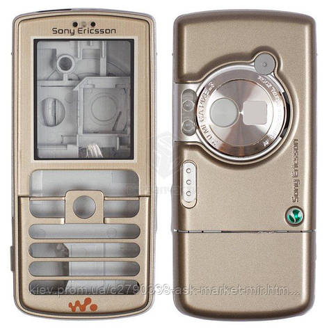 Корпус для Sony Ericsson W700i Original Gold, фото 2