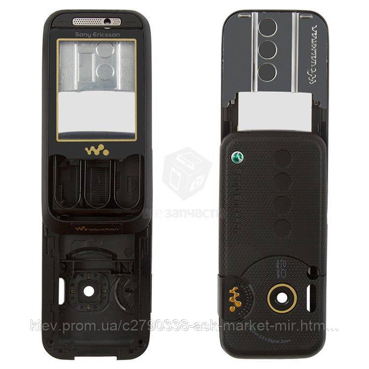 Корпус для Sony Ericsson W850 Black Original