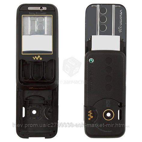 Корпус для Sony Ericsson W850 Black Original, фото 2