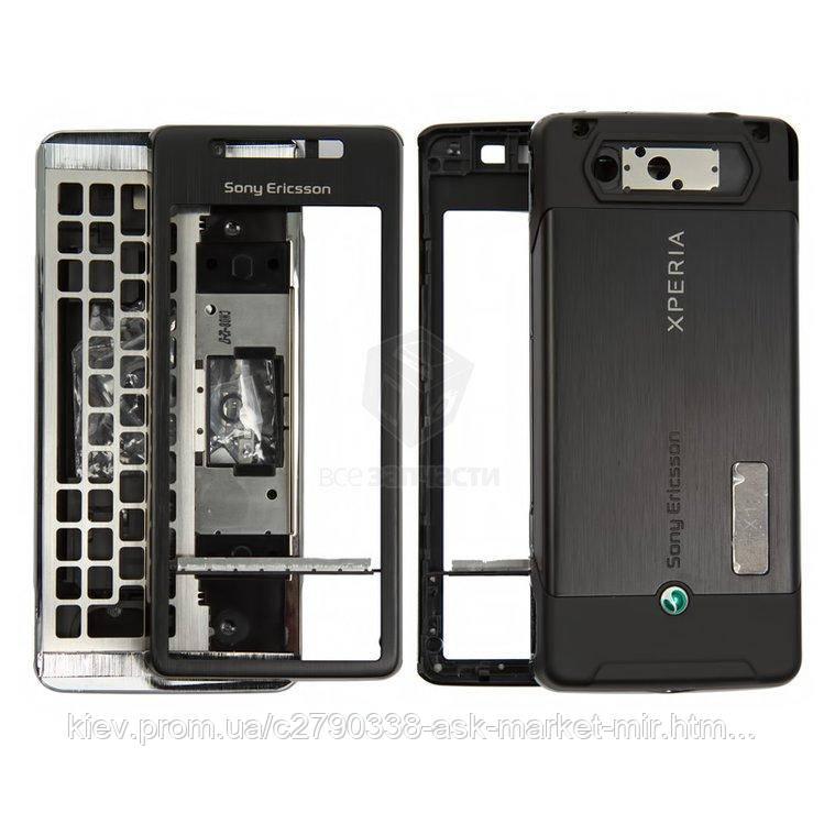 Корпус для Sony Ericsson Xperia X1 Original Black