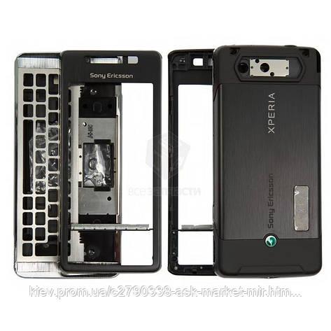 Корпус для Sony Ericsson Xperia X1 Original Black, фото 2