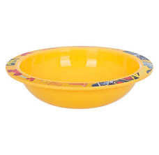 Набор посуды для детей INVICTUS Disney Mickey 3 предмета Пластик Желтый (815805), фото 2