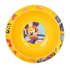 Набор посуды для детей INVICTUS Disney Mickey 3 предмета Пластик Желтый (815805), фото 3