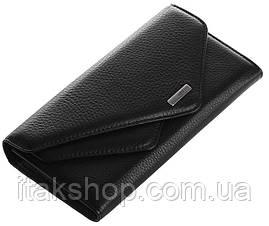 Кошелек женский KARYA 17187 кожаный Черный, Черный, фото 3
