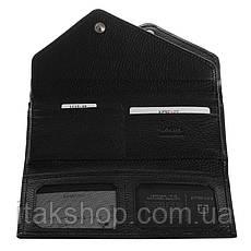 Кошелек женский KARYA 17187 кожаный Черный, Черный, фото 2
