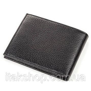 Портмоне мужское KARYA 17095 кожаное Черное, Черный, фото 2