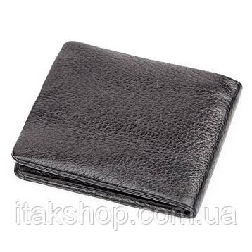 Портмоне мужское KARYA 17128 кожаное Черное, Черный, фото 2