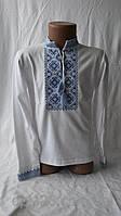 Детская сорочка вышиванка  для мальчика с орнаментом