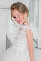 Нарядное платье Silk Road 00040-1 122-128 см белое
