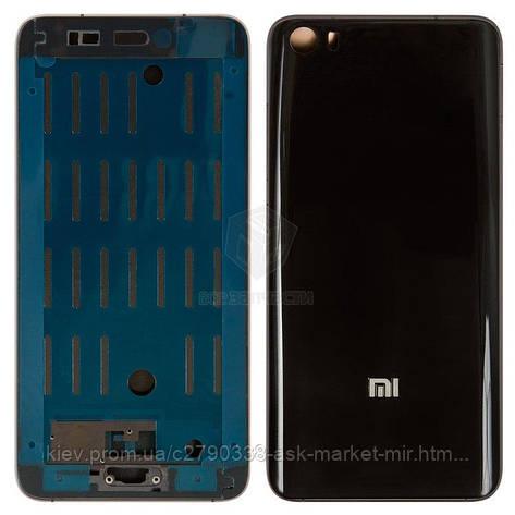 Корпус для Xiaomi Mi5 Original Black, фото 2
